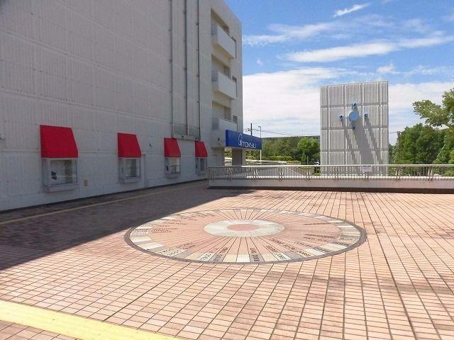 東急デパートの敷地・遊歩道