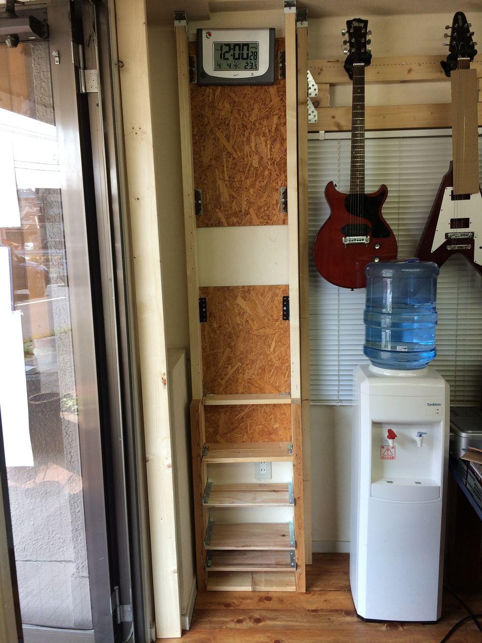 ★工具収納コーナーを作ってみました!