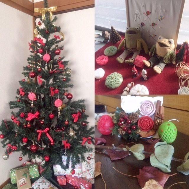 たまプラーザにお住まいのN様のご自宅のクリスマスの飾りつけ。