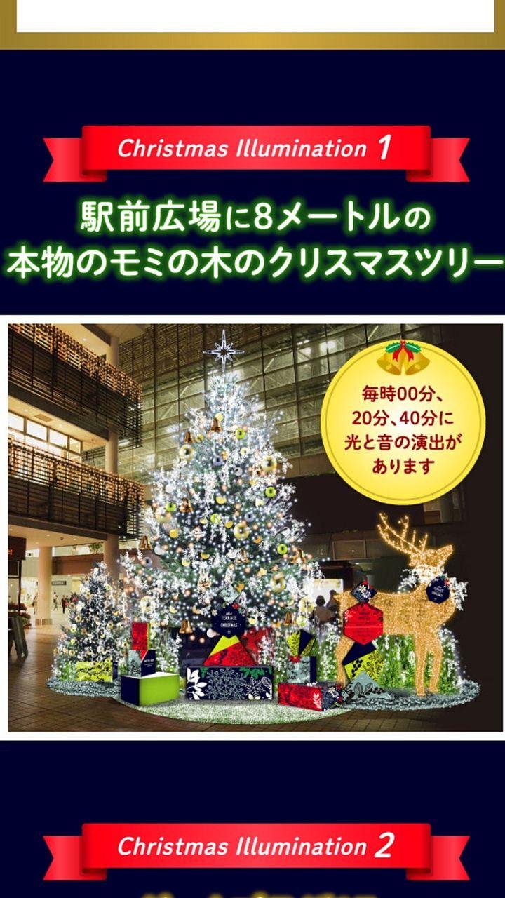 2018年 たまプラーザ クリスマス