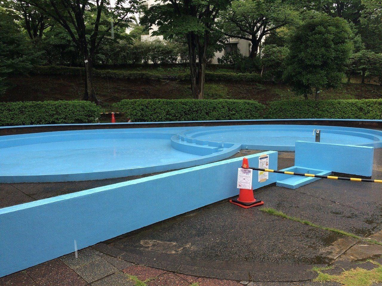 たまプラーザ団地ジャブジャブ池 じゃぶじゃぶプール 幼児用プール